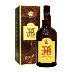 J&B 15 AÑOS 1