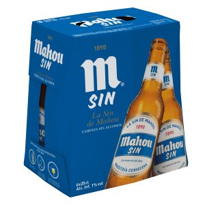 MAHOU SIN ALCOHOL PACK 6 BOT 1