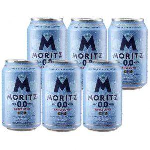 MORITZ SIN ALCOHOL PACK 6 LAT 1